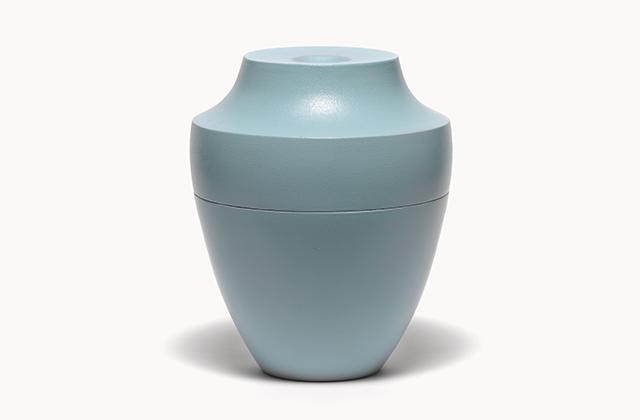 oriental <em>turquoise </em>– stoneware, glaze, h 30 cm, 2009