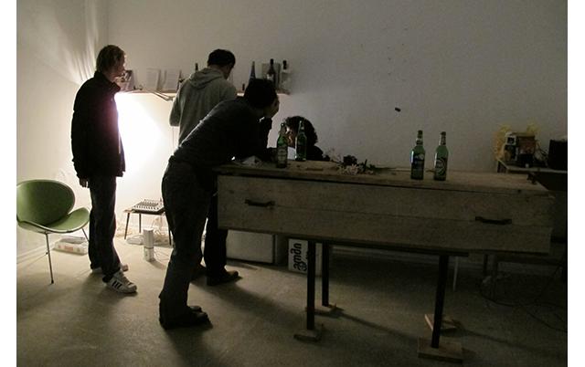 1st Tbilisi Triennal, Triennal-bar, CCA-T, 2012