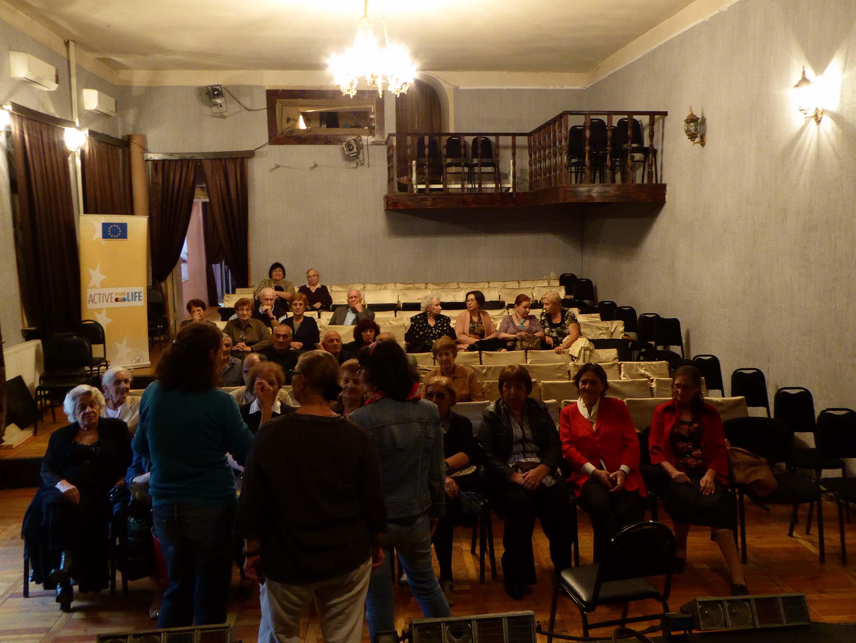apa '15_Footnotes on... / Informal meeting with Tbilisi Senior Citizens <br />oct 2015 (Theatre Giorgi Leonidze State Museum of Georgian Literature Tbilisi)