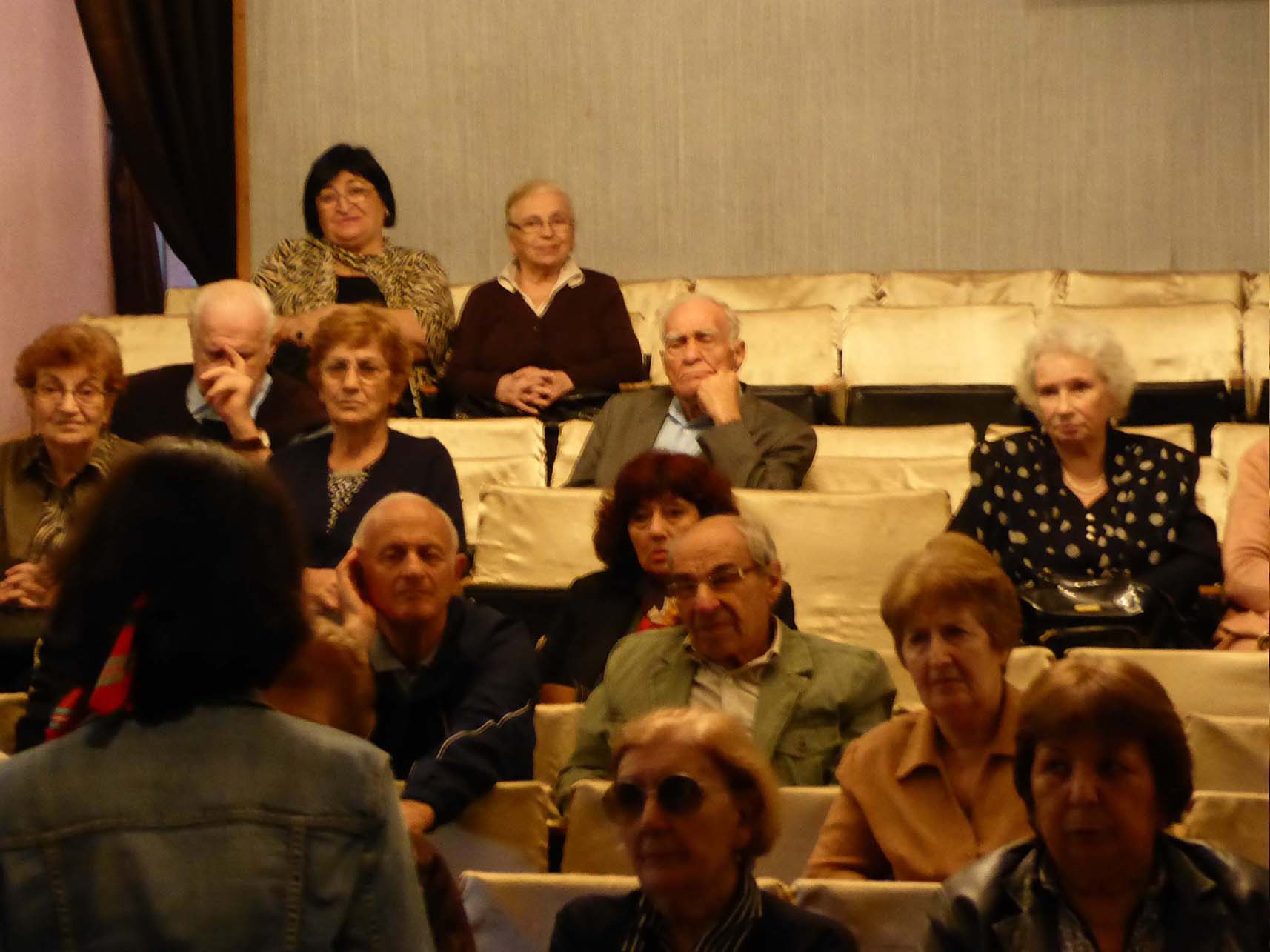 apa '15_Footnotes on... / Tbilisi Senior citizens, informal meeting, oct 2015 <br />(Giorgi Leonidze State Museum of Georgian Literature Tbilisi)