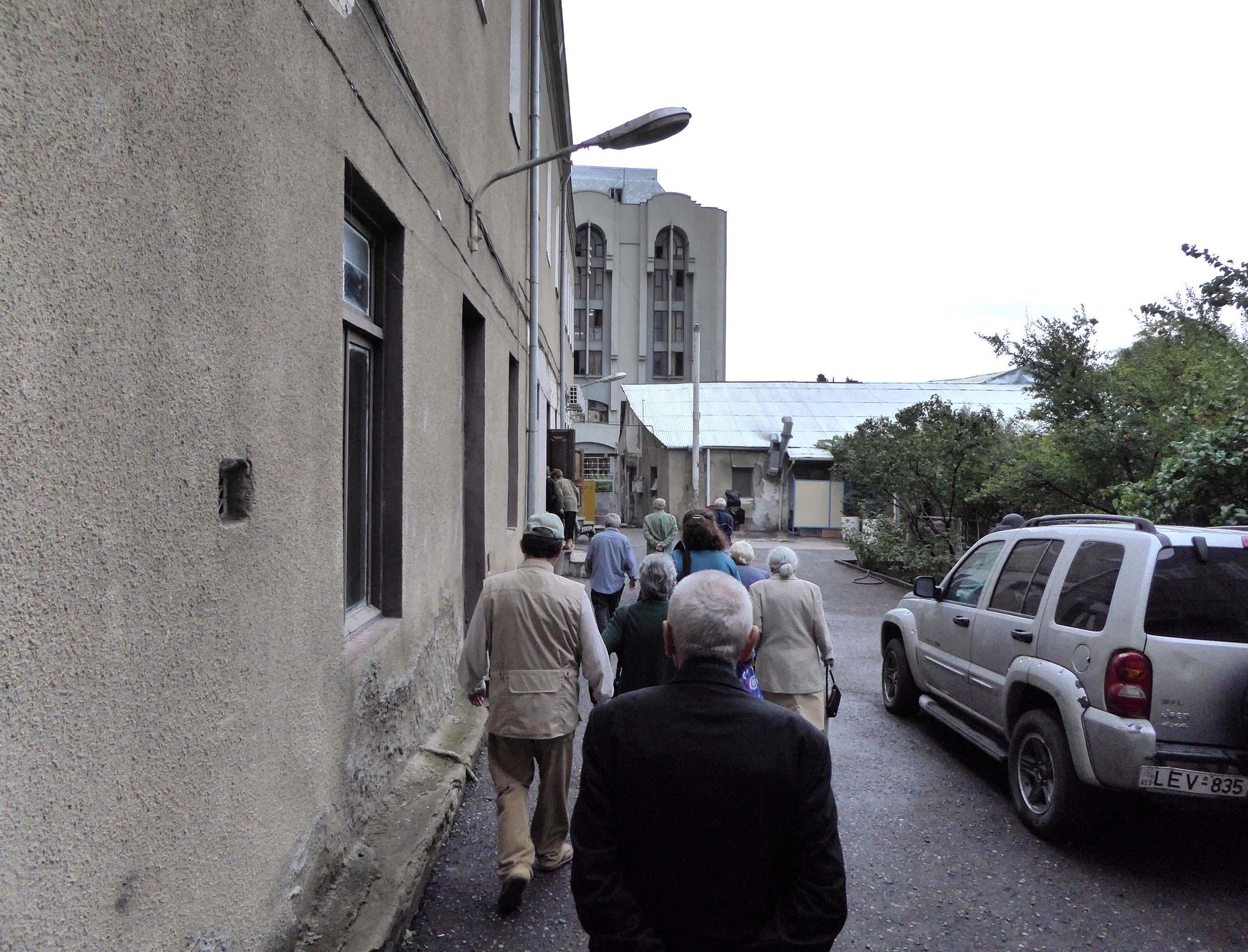 apa '15_Footnotes on... / Informal meeting oct 2015 <br />(Giorgi Leonidze State Museum of Georgian Literature Tbilisi)