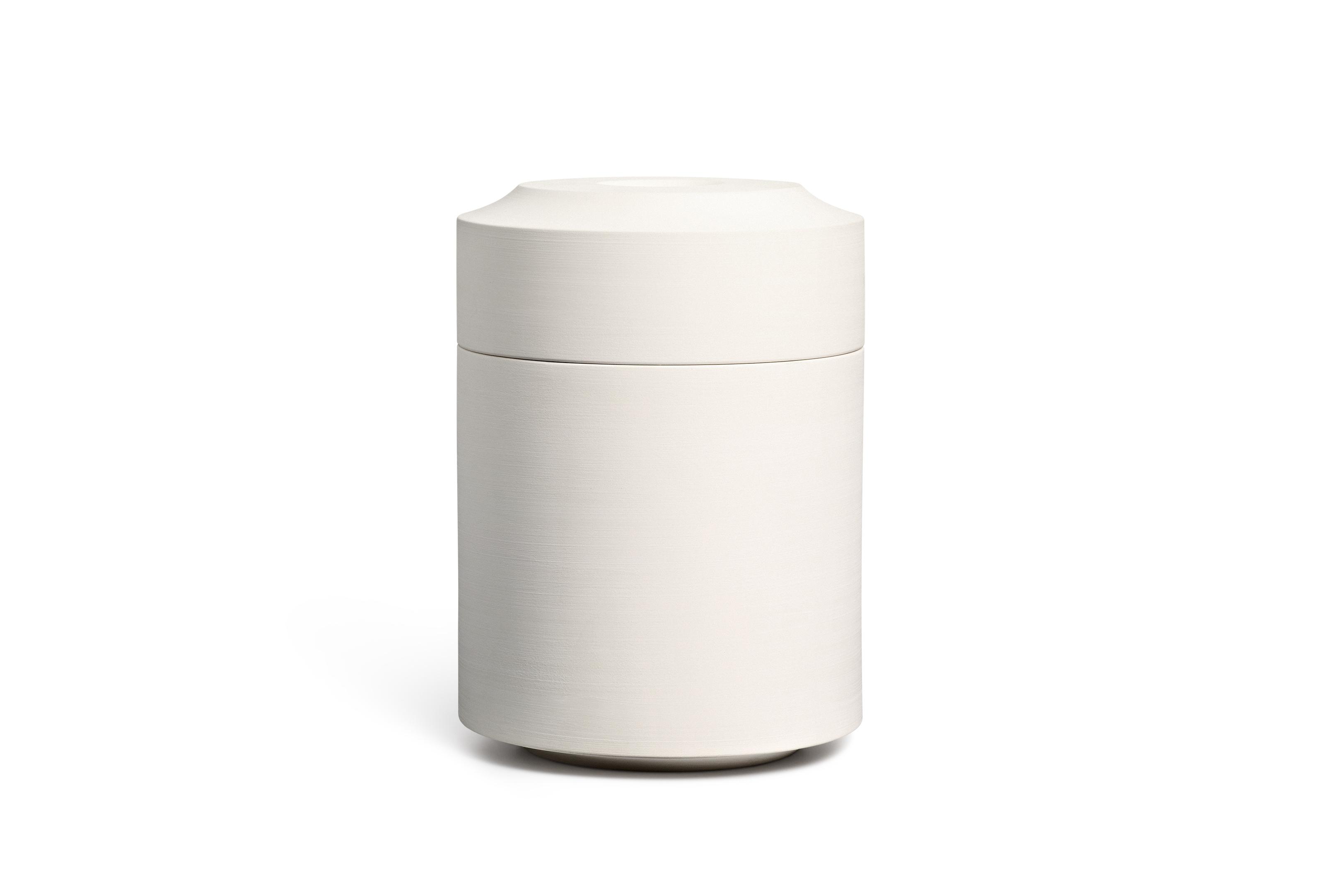 Keramik / glasiert / matt<br />Farbe: snow<br />H 29cm, DM 21cm